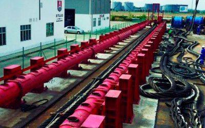 Ensaios em cabos de aço