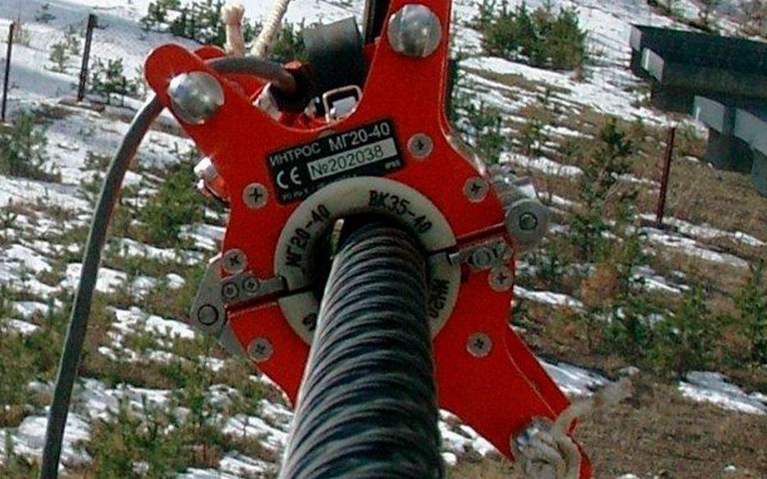 Ensaios não destrutivos em cabos de aço