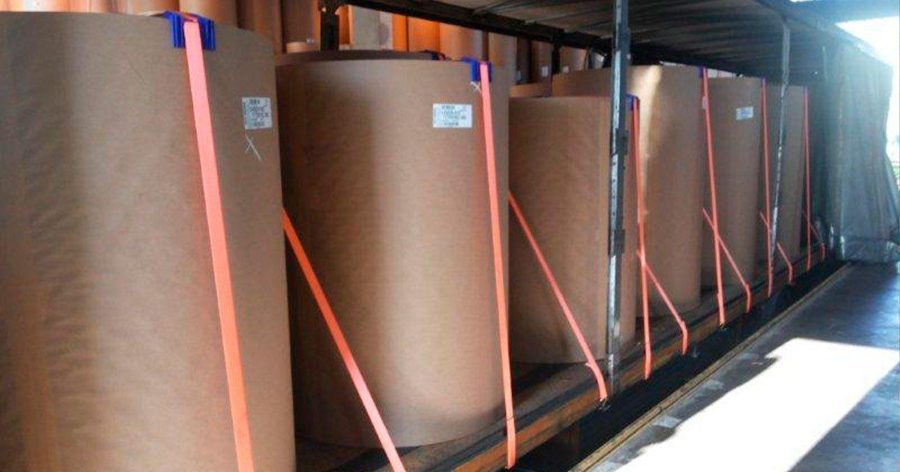 Procedimento de amarração de carga