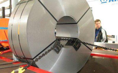 Segurança na amarração de cargas