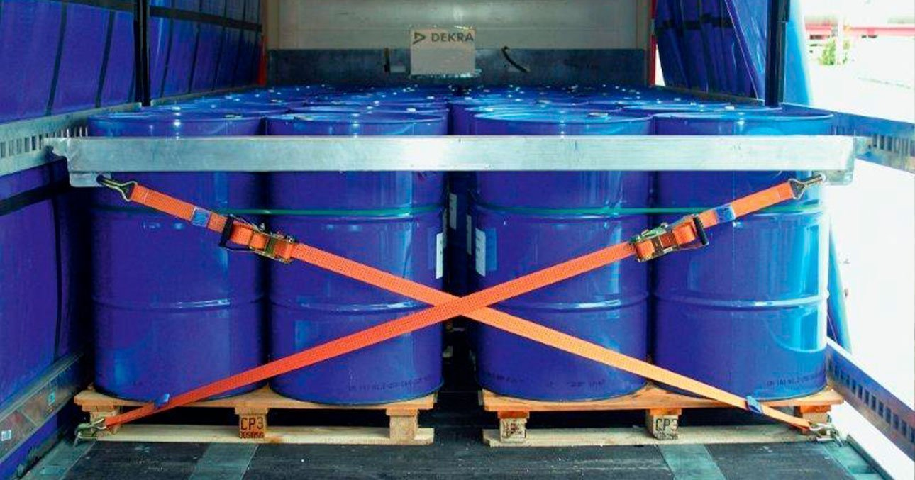 Segurançano transporte de cargas